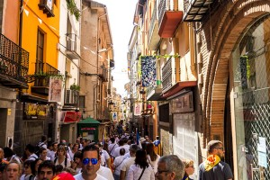 Obrir una botiga al barri vell de Berga serà més barat a partir del 2018