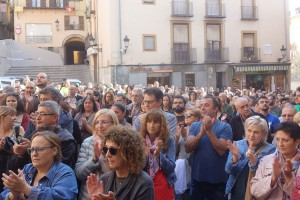 El Berguedà torna a sortir al carrer per condemnar la violència de l'Estat espanyol en el referèndum