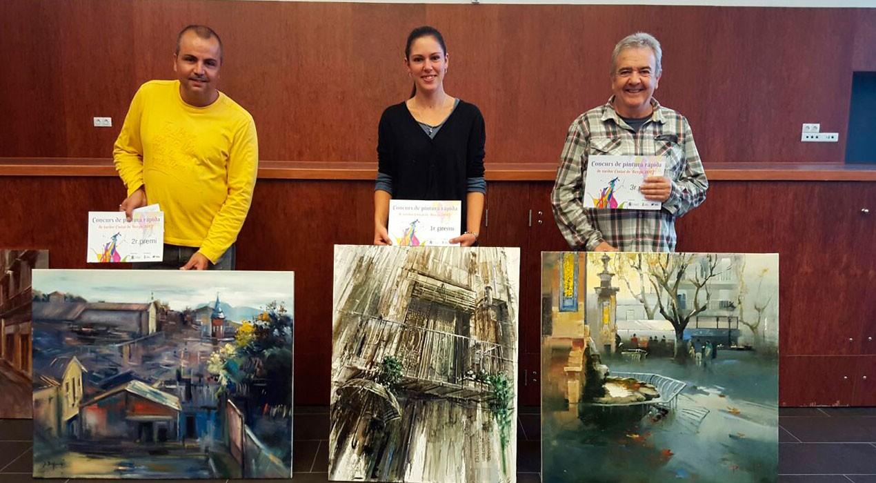 Aida Mauri Crusat guanya el Concurs de Pintura Ràpida de Tardor de Berga