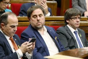 El Berguedà reacciona a l'instant a les xarxes socials i hi celebra la independència de Catalunya