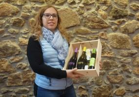 Núria Pons, la guanyadora del primer lot d'El Traginer, ja ha recollit el seu premi
