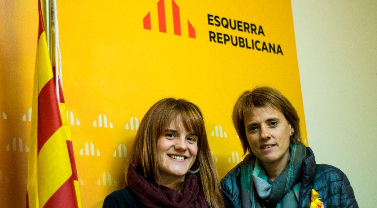 ERC Berguedà escull Queralt Fernández i Alba Camps com a representants comarcals a les llistes del 21-D