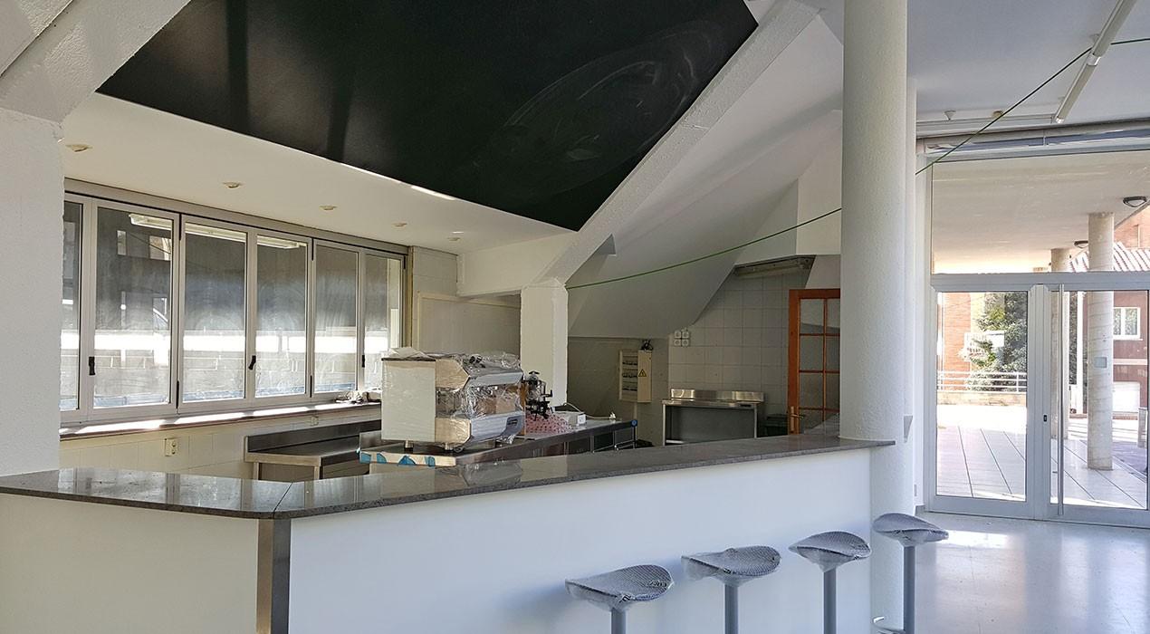 Els nous encarregats del bar del pavelló de Berga hauran de pagar uns 500 euros mensuals a l'Ajuntament