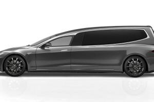 Un cotxe fúnebre elèctric d'alta gamma 'made in' Gironella