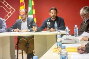 """David Font diu que no trencarà amb el PSC perquè al Consell Comarcal """"s'hi aborden interessos municipals"""""""