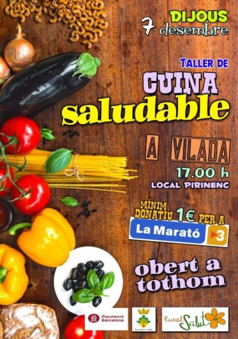 Taller de cuina saludable @ Local Pirinenc (VILADA)