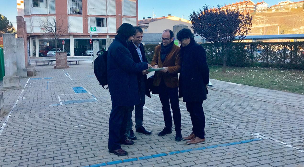 L'Ajuntament de Gironella pagarà 202.000 euros per expropiar els terrenys on es farà l'estació d'autobusos