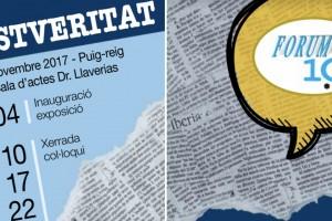 """Les jornades Fòrum 10 Comunicació de Ràdio Puig-reig giraran al voltant de """"La postveritat"""""""