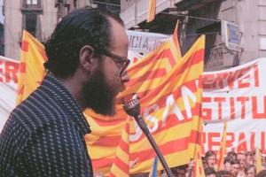 Vilada recupera el Correllengua i el dedica a la figura de Lluís Maria Xirinacs