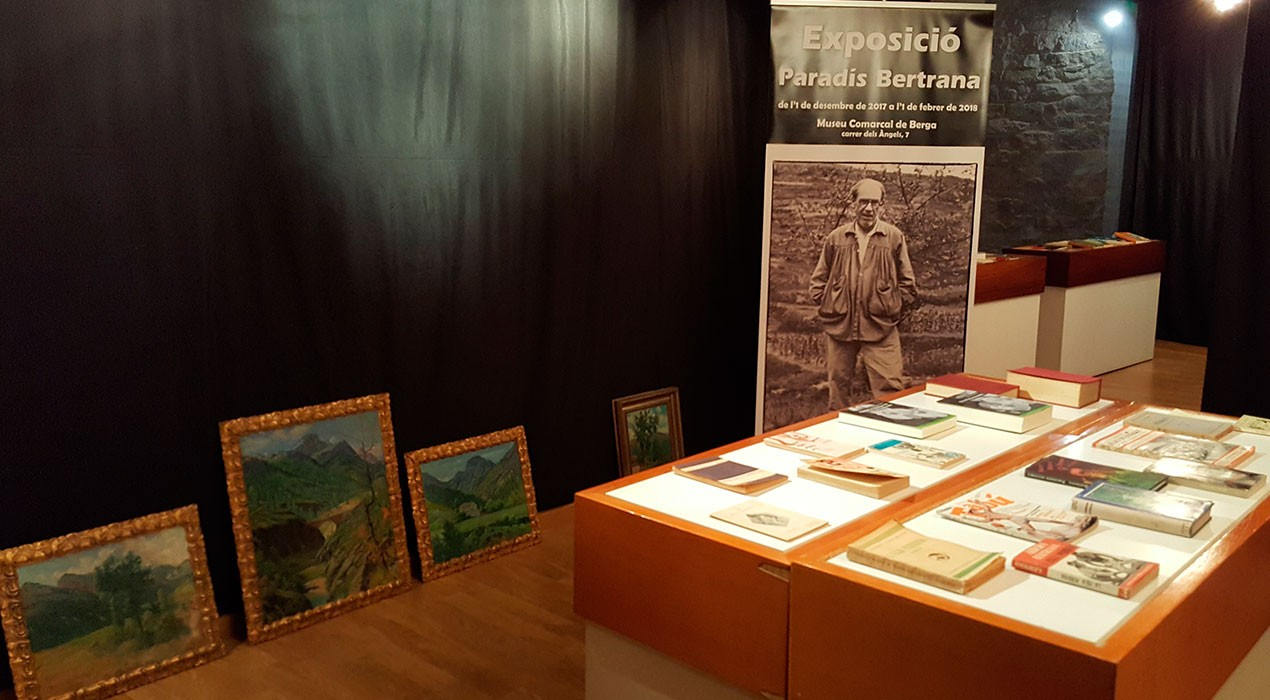 Berga tancarà l'any Bertrana amb una exposició de dotze quadres de Prudenci Bertrana al Museu Comarcal