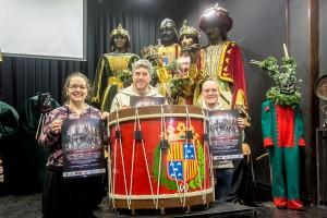 La Patum homenatja el 'Mixu' i Pep Carreras pel 12è aniversari del reconeixement de la UNESCO