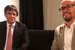 David Font es reuneix a Brussel·les amb Carles Puigdemont