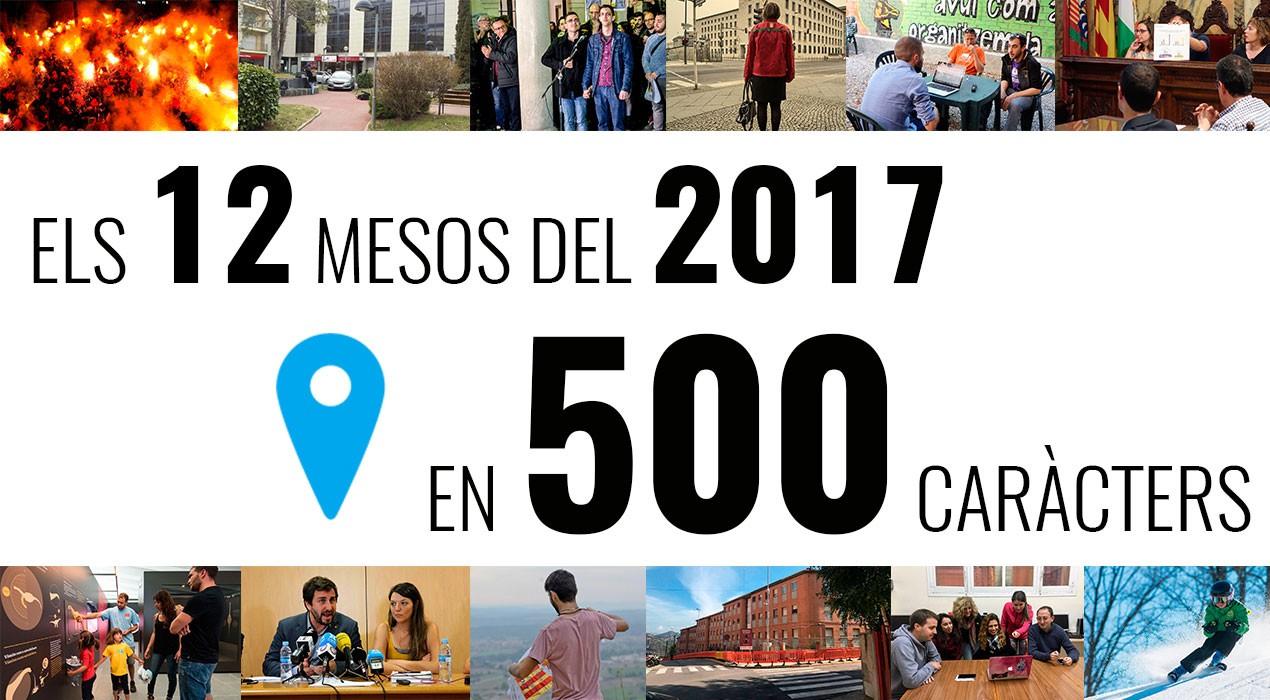 Resum del 2017 al Berguedà: cada mes de l'any en 500 caràcters