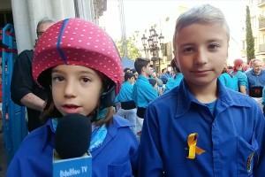 Els Castellers de Berga, colla més innovadora del 2017