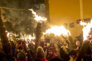 Unes 700 faies donen la benvinguda al Nadal des de Bagà i Sant Julià de Cerdanyola