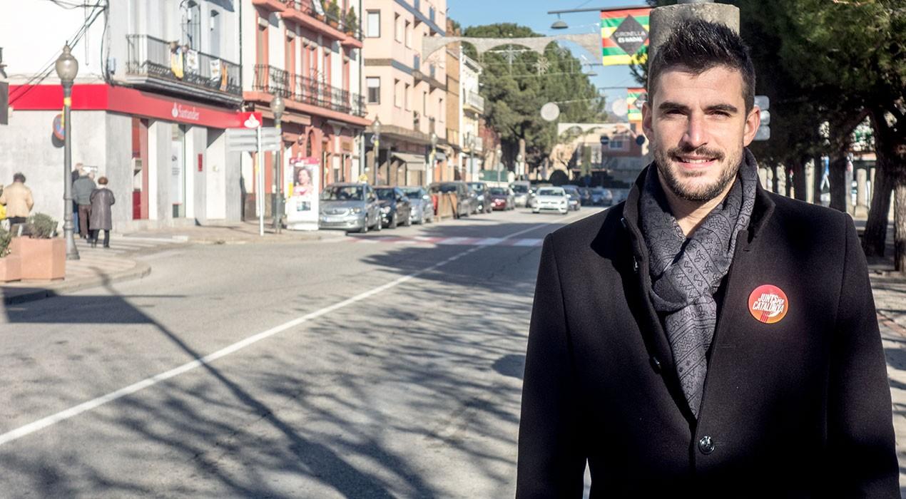 """Lluís Vall (JuntsxCat): """"La llista del President reconeix la tasca que he fet al govern de Gironella"""""""