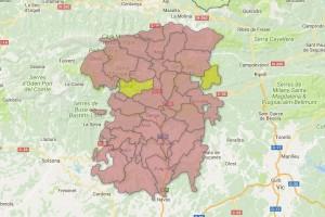 El partit vencedor a cada municipi
