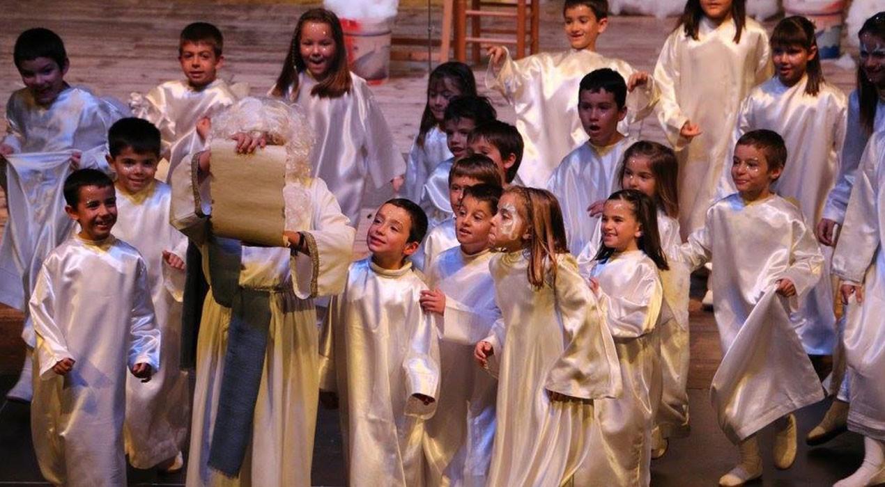 Els pastorets infantils de Berga acomiaden l'any amb dues representacions aquest cap de setmana