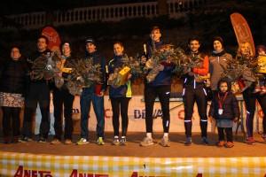 El duo Baños – Tomasa i Txell Calduch s'imposen a la 18a Sant Silvestre de Berga