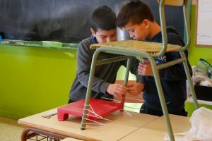 Les polèmiques alces reposapeus aterren a les escoles del Berguedà, també a les concertades de Berga