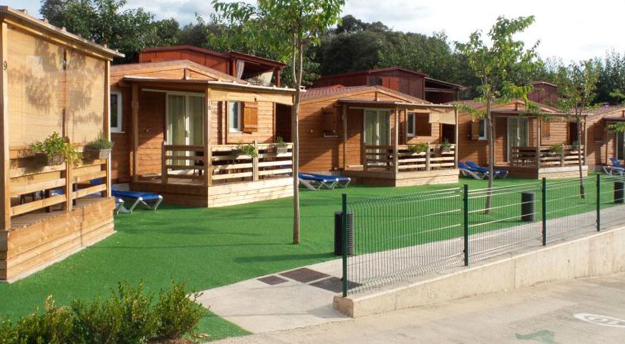 El càmping Berga Resort posa els seus bungalows a disposició del personal sanitari del Berguedà