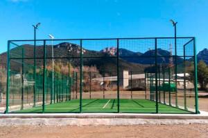 Sant Jordi de Cercs ja té pista municipal de pàdel