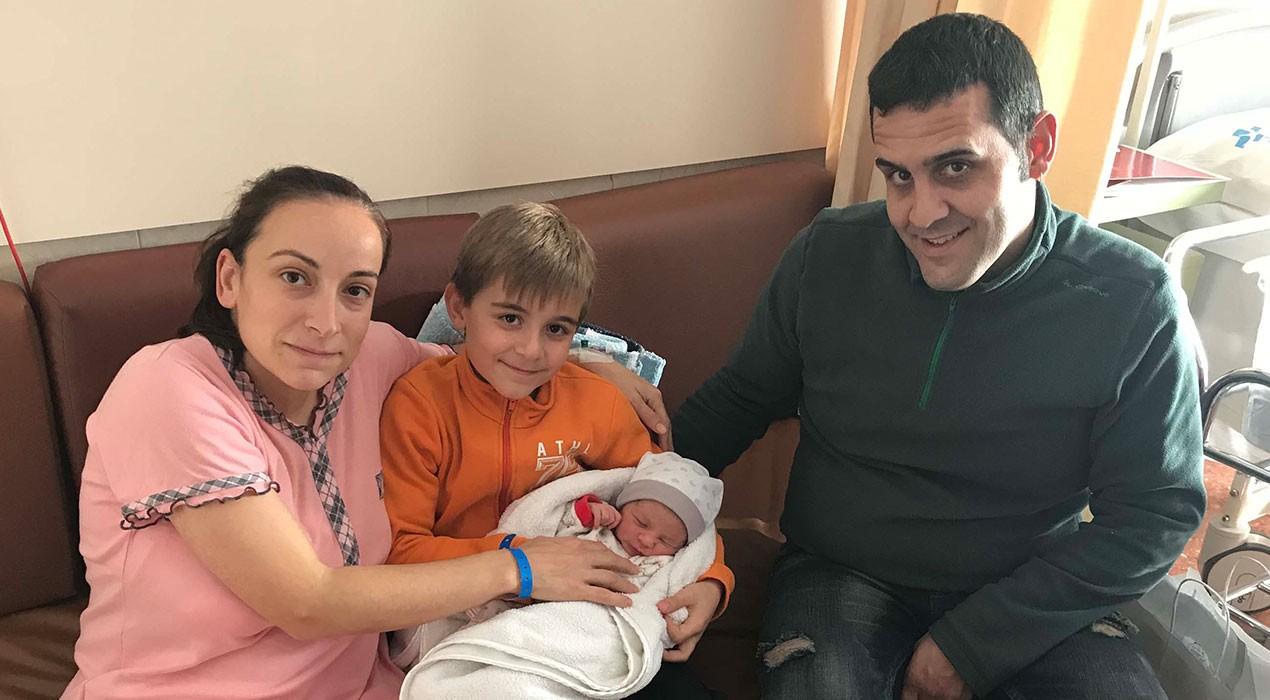 Neix el primer nadó del Berguedà del 2018