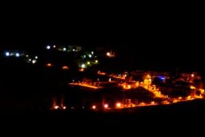 Saldes demana protecció envers la contaminació lumínica per protegir el seu cel de qualitat