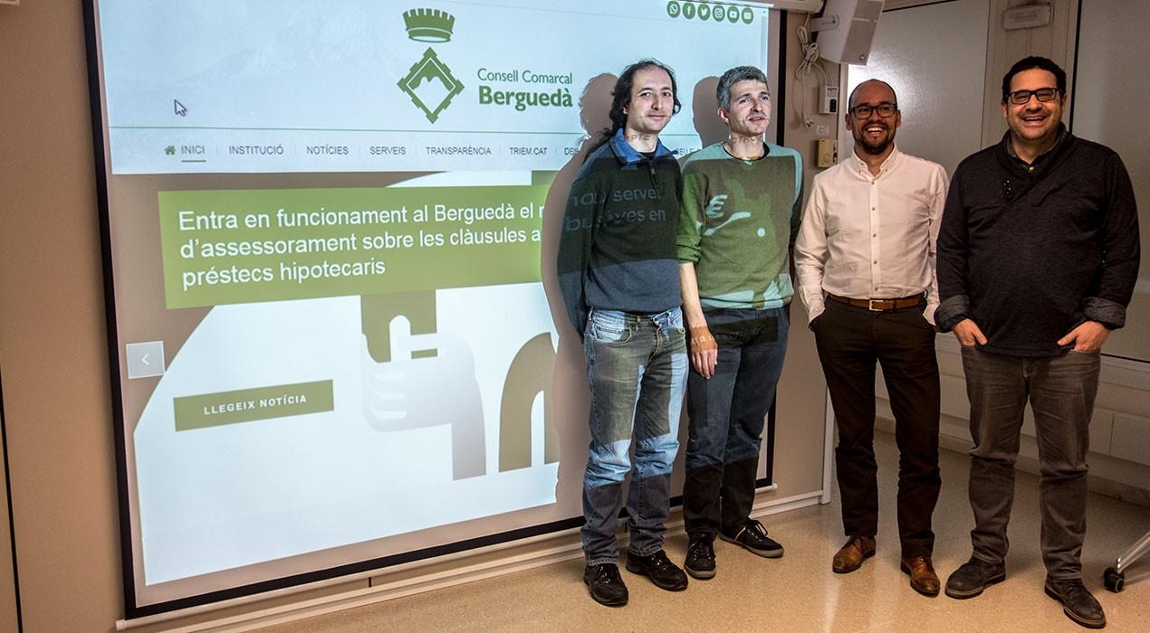 El Consell Comarcal del Berguedà renova el seu web i hi incorpora l'atenció a través de Whatsapp