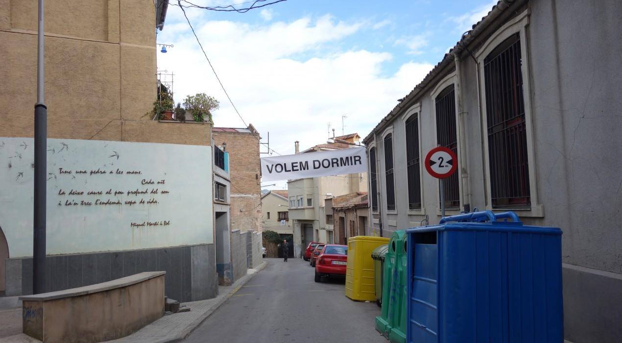 Els veïns de l'entorn de La General reclamen que l'Ajuntament de Berga dugui a terme les accions que els van prometre fa un any i mig