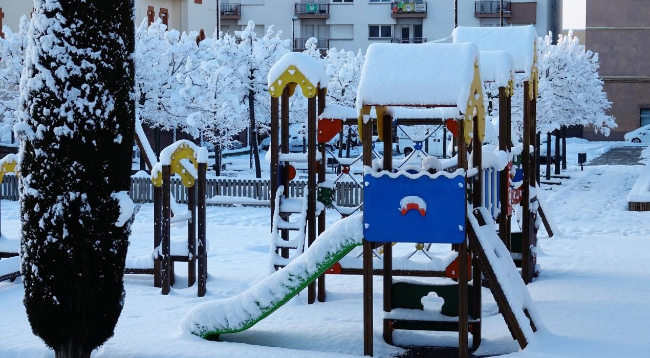 La nevada al Berguedà, en imatges