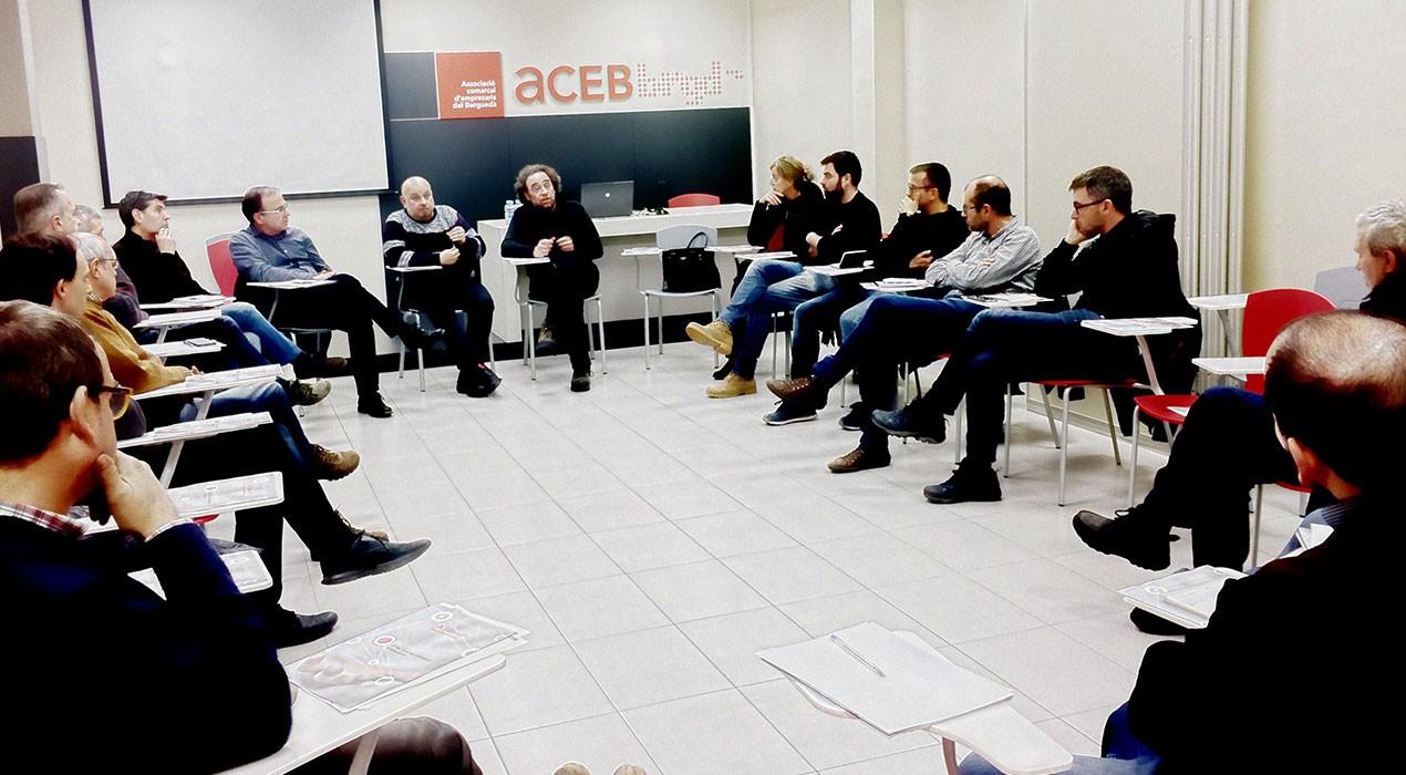 L'Ajuntament de Berga i empresaris de la construcció es reuneixen per buscar solucions pel barri vell