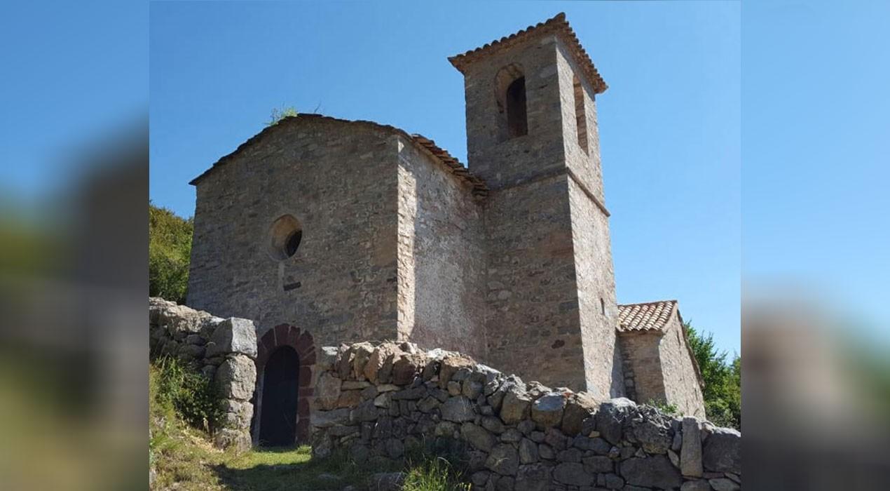 La Diputació de Barcelona estudia rehabilitar l'església de Sant Genís de Gavarrós