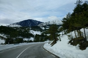 La nevada d'aquest dimecres ha obligat a tallar la C-16 entre Berga i Bagà durant més d'una hora