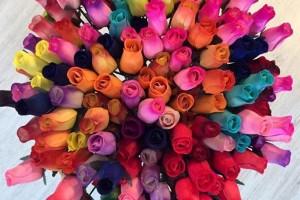 Roses de fusta per Sant Jordi, un regal original i per a tota la vida