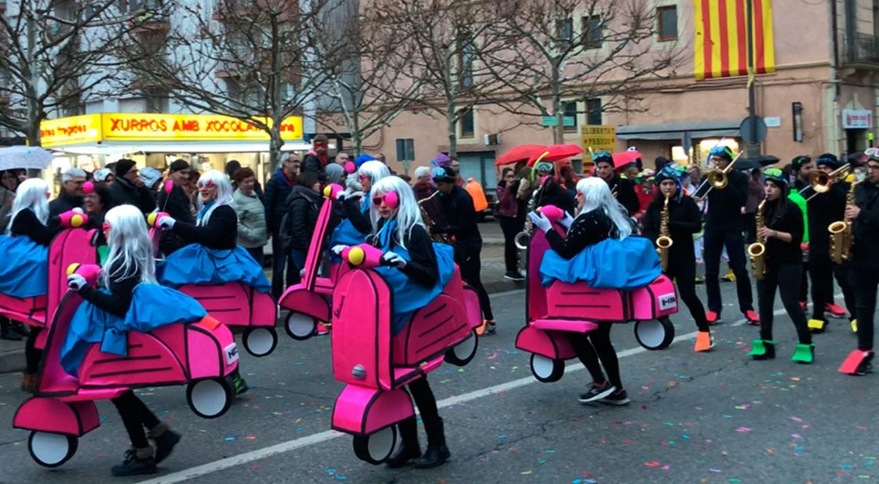El Carnaval de Gironella canvia l'inici i el final de la rua per les obres al Local del Blat i la plaça de l'Estació