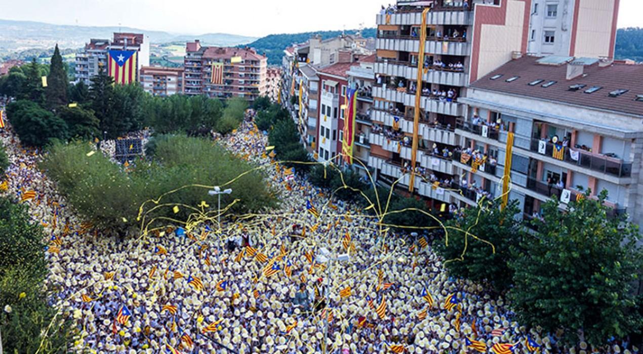 La resposta de l'independentisme a la sentència contra els presos començarà a Berga