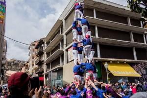 Gironella confirma la progressió dels Castellers de Berga: dos castells de 7 més, al sac