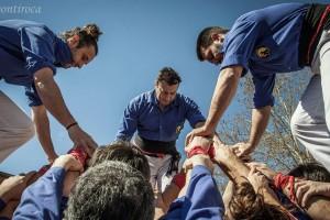 Els Castellers de Berga enceten temporada descarregant un 3 de 7 molt segur a Igualada