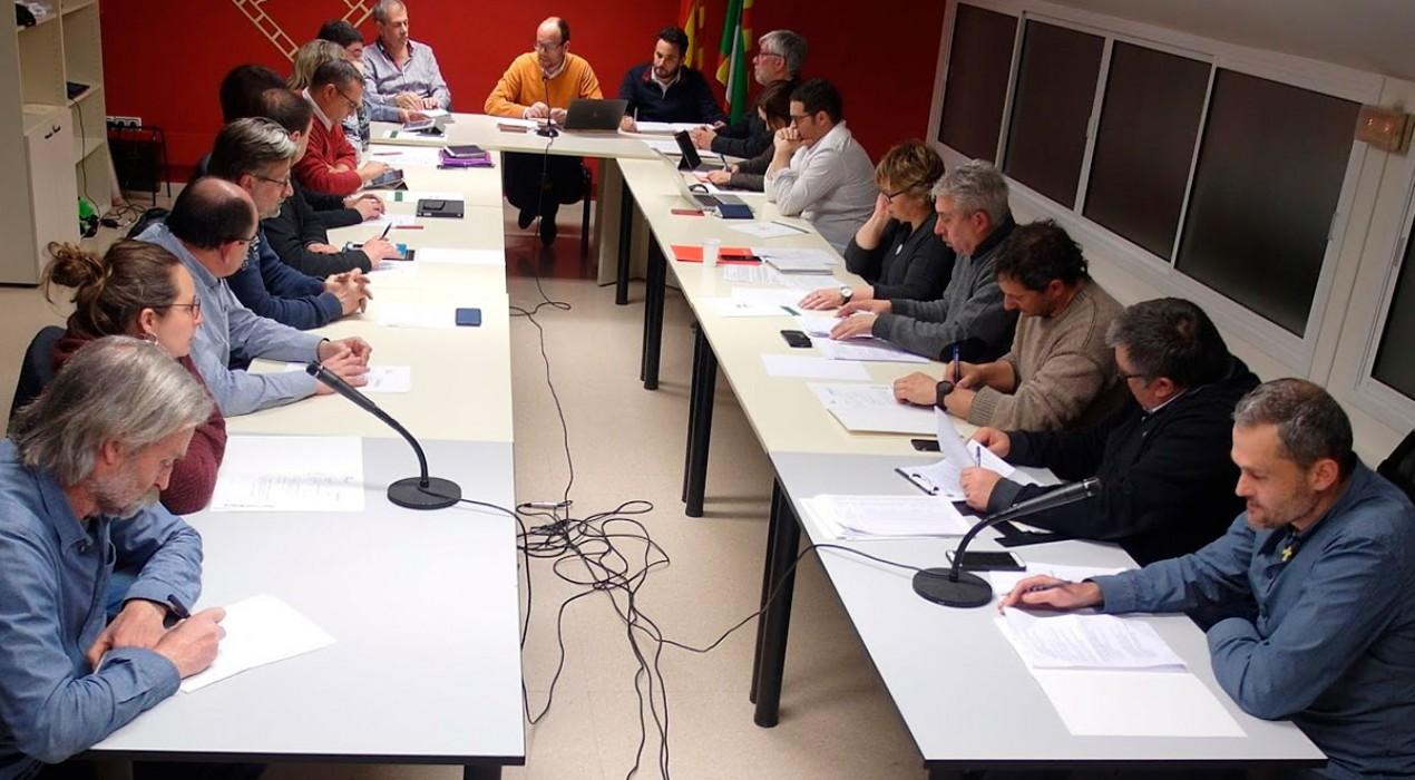 El Consell Comarcal aprova un pressupost d'uns 15 milions d'euros amb el porta a porta com a gran aposta