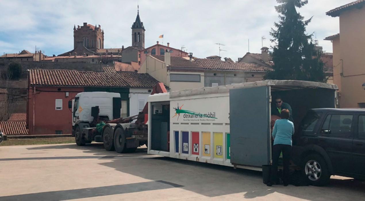 Gironella recicla millor i l'Ajuntament aplica el descompte promès en el rebut d'escombraries