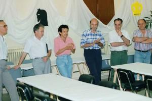 Mor Josep Bober i Camprubí, alcalde de la Pobla de Lillet entre 1987 i 1999