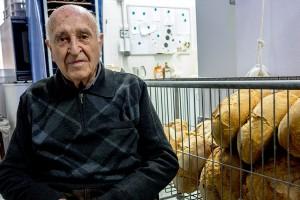 90 anys entre els pans i les coques de Cal Pius