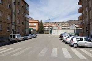 L'Ajuntament de Berga millora la mobilitat al barri de Santa Eulàlia amb noves rampes per a vianants