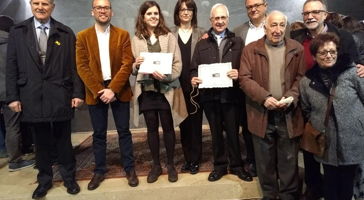 Ramon Viladés, la Farsa i la Melanzana Ensemble guanyen els primers Premis de Cultura del Berguedà