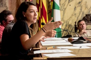"""Montse Venturós lamenta que la llei actual """"acompanya molt poc"""" al finançament dels Castellers de Berga"""
