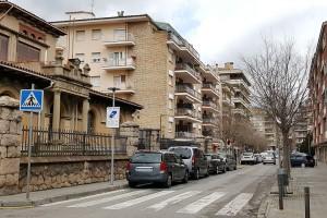 Berga converteix en zona blava els aparcaments de la Gran Via entre el carrer Cervantes i passeig de la Pau