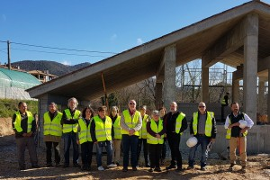 La depuradora de Borredà s'enllestirà a finals de juny i entrarà en funcionament la segona meitat de juliol