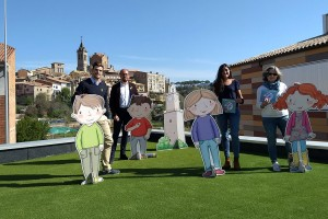 Publiquen 'Gironella, un viatge en el temps', un conte infantil que relata la història de Gironella