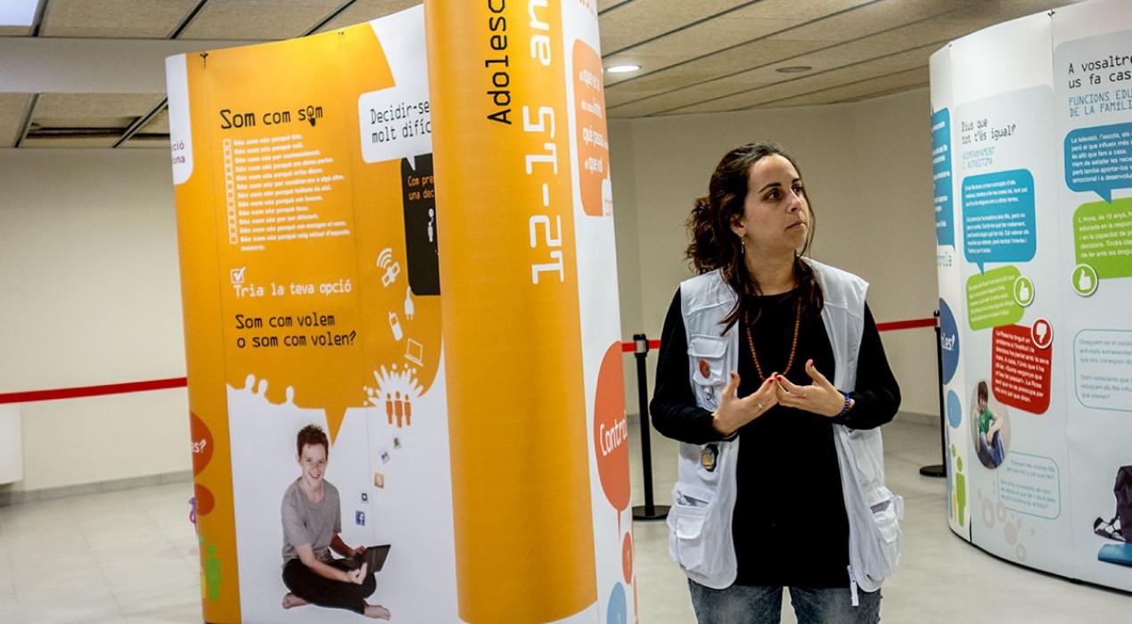 Presenten a Berga una exposició sobre les drogodependències adreçada als escolars del Berguedà